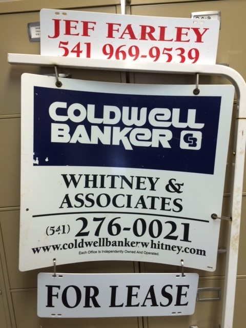 Coldwell Bankers yard signs by Creative Signs