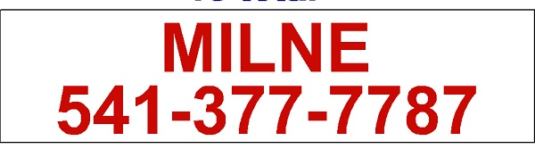 "Use a header sign 6"" x 24"" for the Real Estate Agent's contact information."